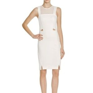 French Connection White Cocktail Dress